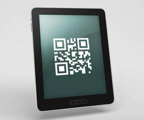 "Tablet Computer ""QR Code"""