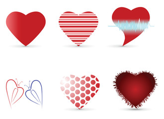 Heart Design Collection