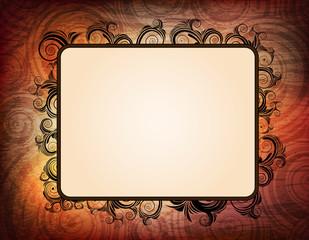 ornamented frames. eps10 vector