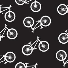 bike seamless pattern vector illustartion