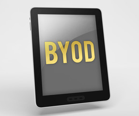 """Tablet Computer """"BYOD - Bring Your Own Device"""""""