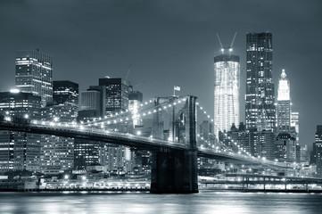 Fototapeta New York City Brooklyn Bridge obraz