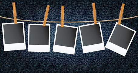 photos on wallpaper