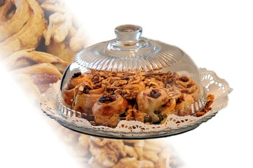 little apple pies - food decoration
