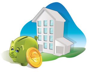 économies de la consommation des immeubles