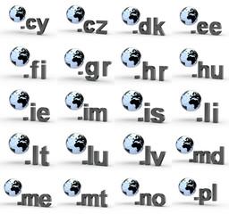 20 3D Top Level Domains