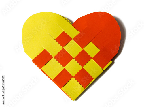 Herz Aus Papier Stock Photo And Royalty Free Images On Fotolia Com