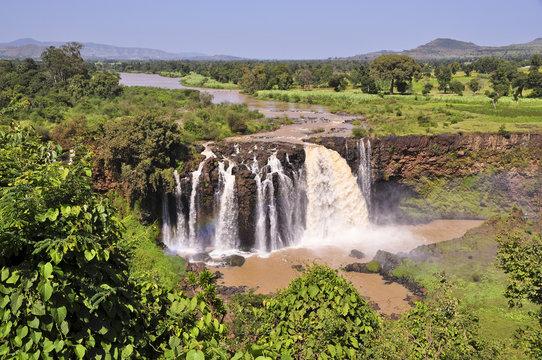 Blue Nile falls in Ethiopia