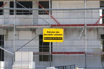Betreten verboten Schild