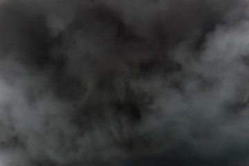 Black Smoke background abstract