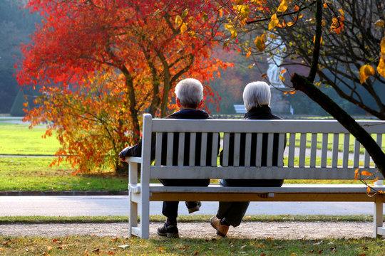 Herbsttag im Park
