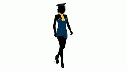 010 female graduate