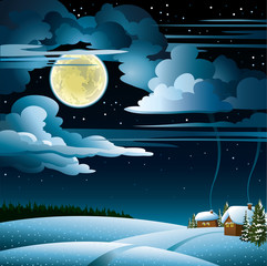 Moon and house wintet