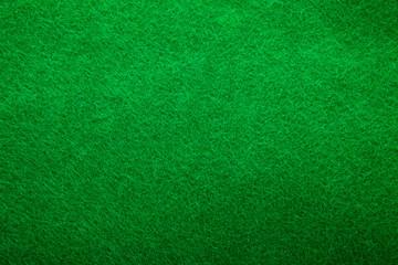 Background texture of green felt
