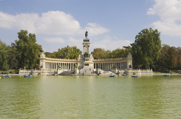 In Retiro park, Madrid