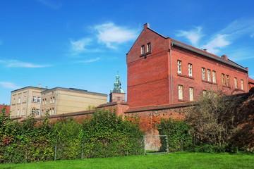 Wittstock mit Stadtmauer