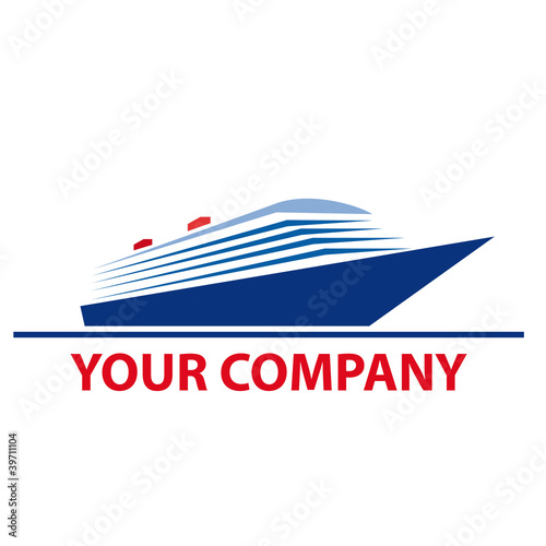 Logo Cruise Ship Vector Stock Image And Royaltyfree Vector - Cruise ship logos