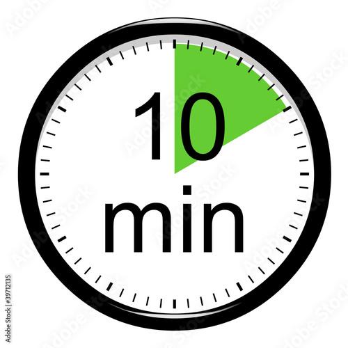Minuterie 10 minutes photo libre de droits sur la - Minuteur 10 minutes ...