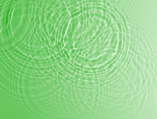 abstract green water ripple background