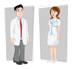 doctors male & female