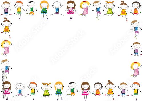 Kids Frame Stok Görseller Ve Telifsiz Vektör Dosyaları Fotoliacom