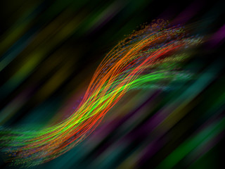 Lines in motion