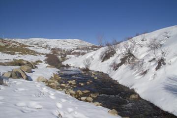 cours d'eau corse en montagne