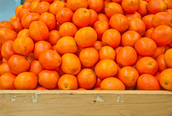 Oranges at the market