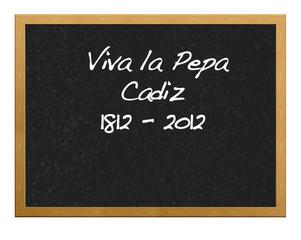 Viva La Pepa.