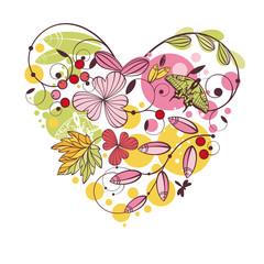 floral spring card