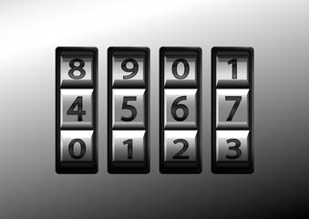 code numerique valise