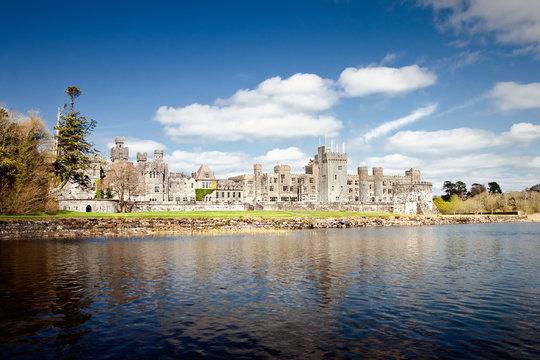 The 13th Century Ashford Castle hotel in Cong - Ireland.