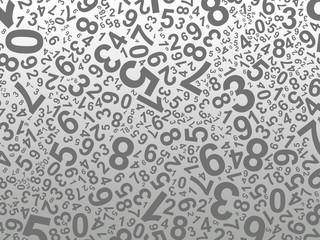 Maths - fond de chiffres - Tirage au sort