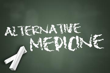 "Chalkboard ""Alternative Medicine"""