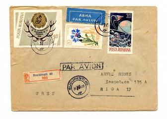 Vintage romanian cover