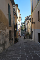l'antica città di Chieti in Abruzzo