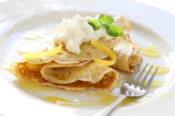 Lemon Citrus Crepes