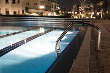 Pool near the 5-star hotel