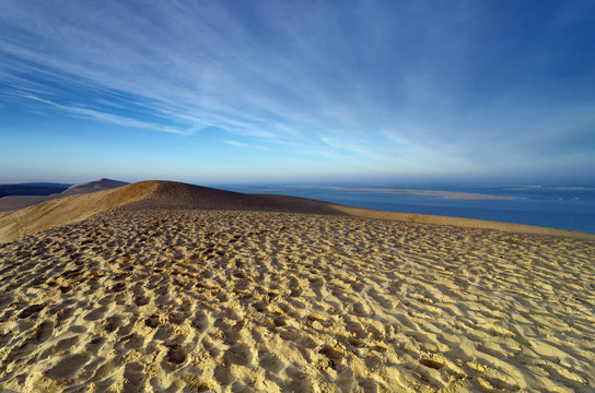 dune du Pilat et banc d' Arguin