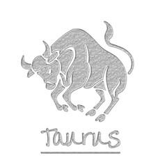 Glitter Taurus Bull