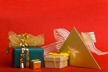 Verschiedene Weihnachtsgeschenke