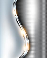 Elegant background metallic.