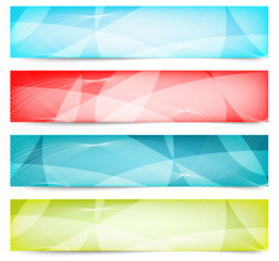 Abstract Web Banners