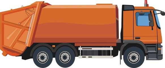 Urban garbage truck