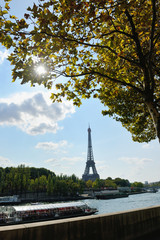 eiffel tower in paris at day