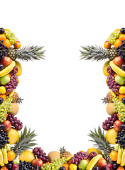 still life multifruit