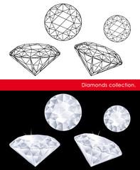 Diamonds collection.