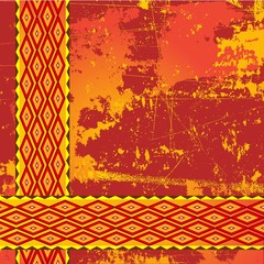 Africa Texture-Etnico-Ethnic Tribal Design-Vector