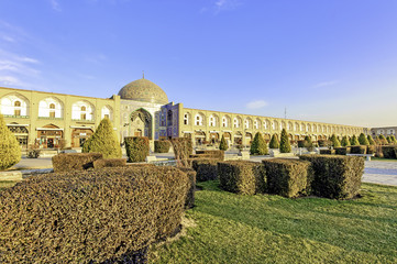 Sheikh Lotf Allah Mosque at Imam Square in Isfahan, Iran