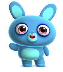 Recess Fitting Sweet Monsters bunny